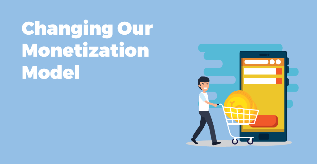 TimeTune - Changing Our Monetization Model